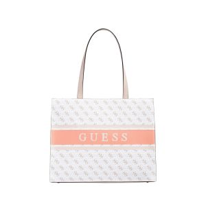 Borsa Shopper Monique 4G Logo White Multi